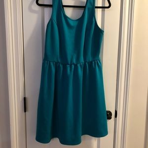 Forever 21 Teal Fit and Flare
